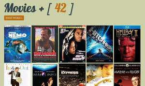 Screenshot of Movies Plus