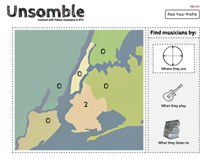 Screenshot of Unsomble