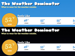 The Weather Dominator